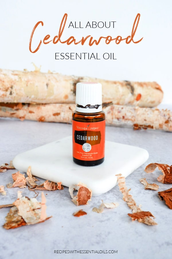 cedarwood essential oil recipes and uses