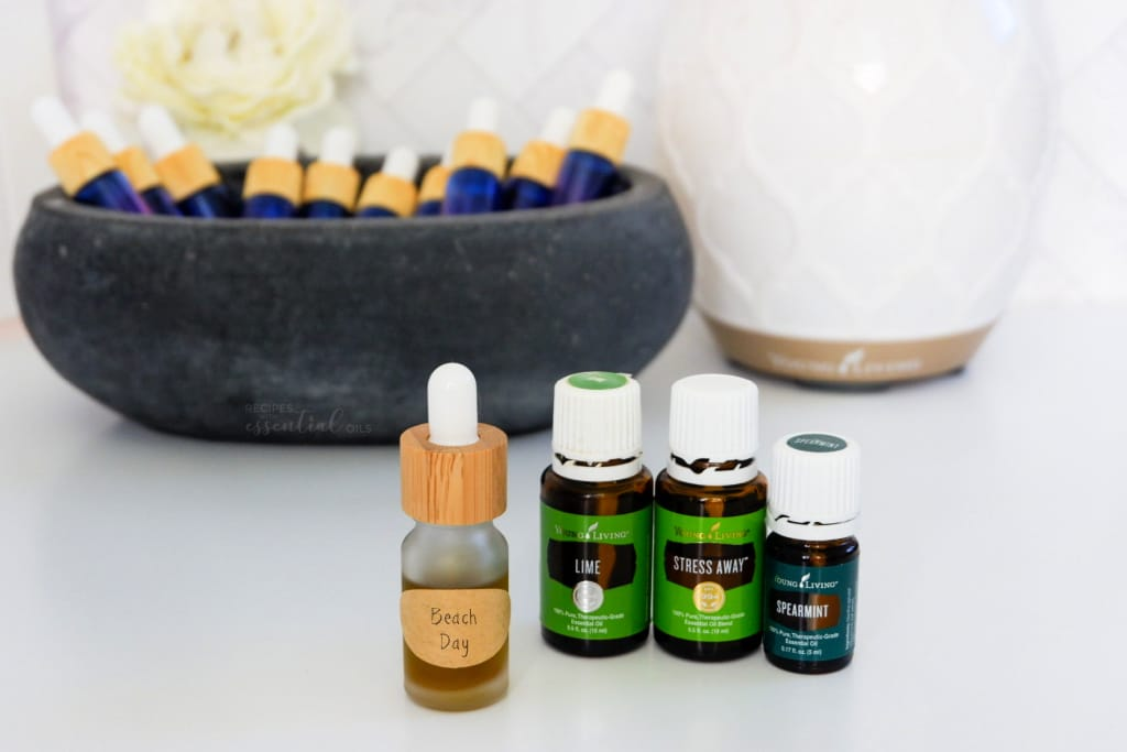 beach day diffuser bomb essential oils young living