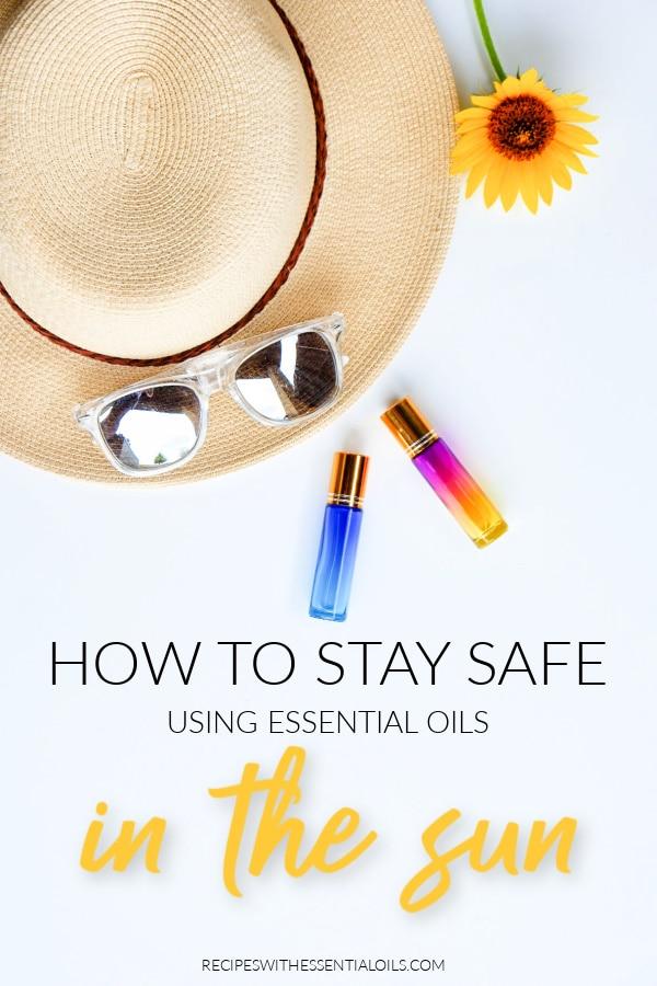 sun safety essential oils