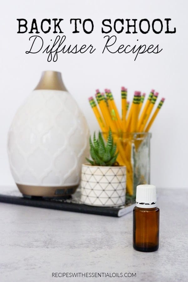 back to school essential oil diffuser blends