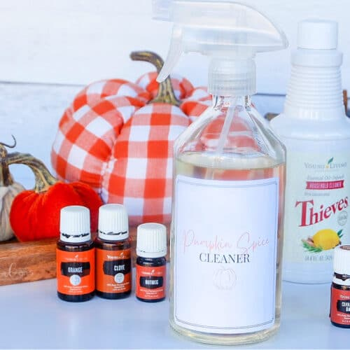 pumpkin spice cleaner with thieves household cleaner