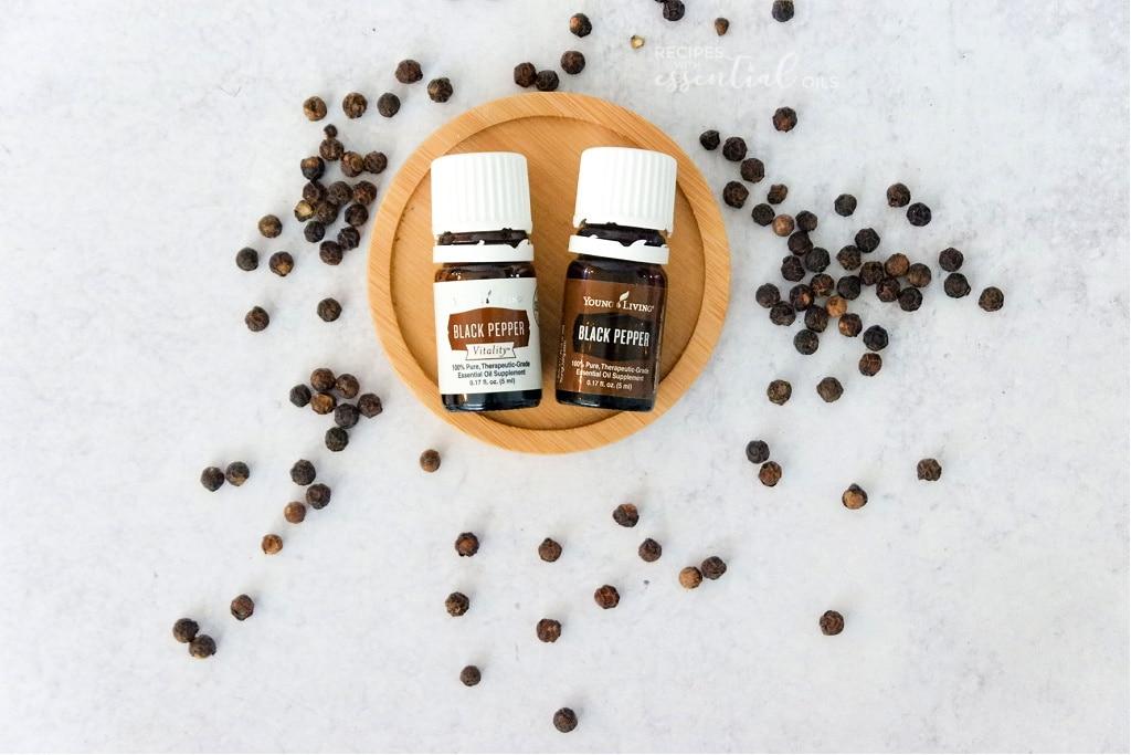 black pepper vitality essential oil recipes